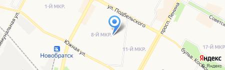 Братский межотраслевой учебный центр по подготовке на карте Братска