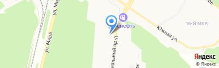 Мастерская по ремонту автостекол на карте Братска