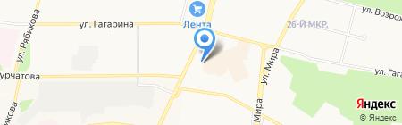 Милый дом на карте Братска