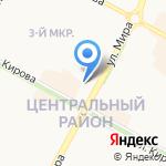 Братский драматический театр на карте Братска