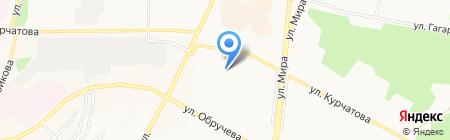 Детский сад №86 Антошка на карте Братска