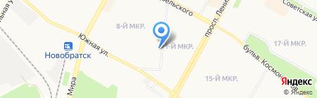 Управление министерства социального развития на карте Братска