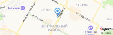 Pegas Touristik на карте Братска