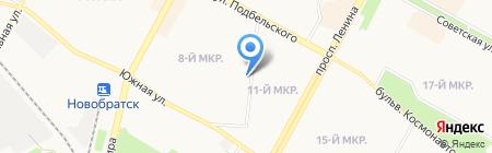 Отдел образования администрации Братского района на карте Братска