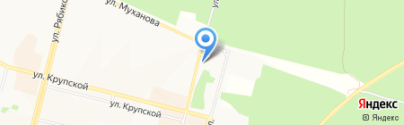 АВТОDROM на карте Братска