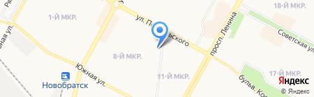 Главное бюро медико-социальной экспертизы по Иркутской области на карте Братска