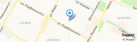 Банкомат Братский Акционерный Народный коммерческий Банк на карте Братска