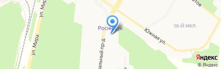 Элегант на карте Братска