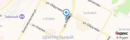Spa на Чердаке на карте Братска