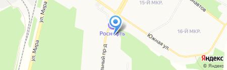 Центр крепёжных изделий на карте Братска