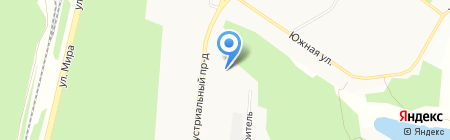 Бытсервис на карте Братска