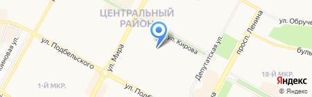 Иркутский областной суд на карте Братска