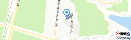 ПГС на карте Братска