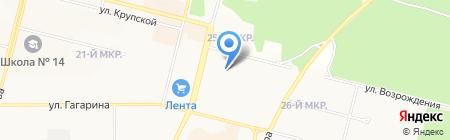 ИНДИГО на карте Братска
