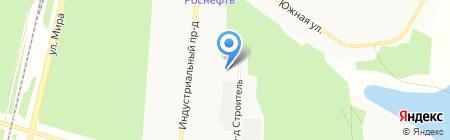 ТБМ-Байкал на карте Братска