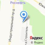 Т.Б.М.-Байкал на карте Братска