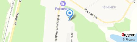 GPS TK 102 на карте Братска