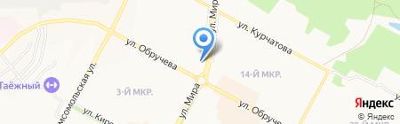 Excellent на карте Братска