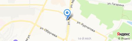 Фотмос на карте Братска