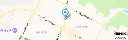 Букет-ОПТ на карте Братска