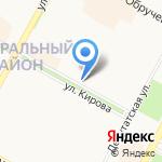 Пекарня Мишеля на карте Братска