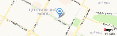Кондитерская-пекарня Мишеля на карте Братска