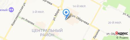 Центральная аптека на карте Братска