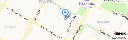 HOT POINT на карте Братска