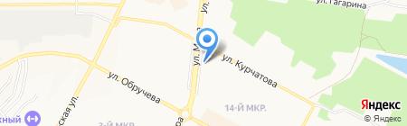 Мариан на карте Братска