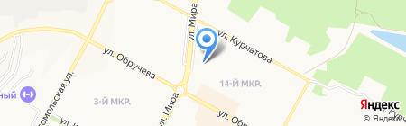 Фасон на карте Братска