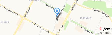 Бухгалтерские услуги на карте Братска