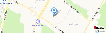 Комплексный центр социального обслуживания населения г. Братска и Братского района на карте Братска