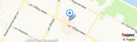 Киоск по ремонту обуви на карте Братска