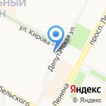 Иркутская областная коллегия адвокатов на карте Братска