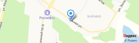 Мангуст на карте Братска