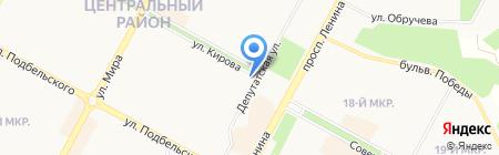 BRP Center Братск на карте Братска