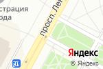 Схема проезда до компании Лига квартир в Братске