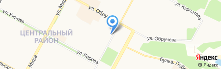 ГАРАНТ на карте Братска