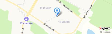 ХОРОШО на карте Братска