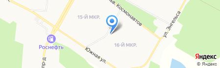ЧИКЕРС-СТИКЕРС на карте Братска
