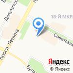 Иркутский государственный университет на карте Братска