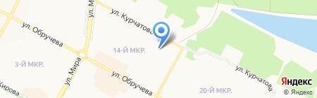 Детский сад №83 на карте Братска