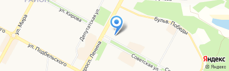 АС СЕРВИС на карте Братска