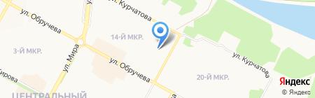 Dорадо на карте Братска