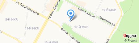 Средняя общеобразовательная школа №3 на карте Братска