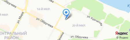 Иркутское региональное отделение фонда социального страхования РФ в г. Братске на карте Братска