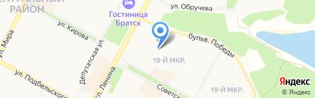 ОЦТИ-Областное БТИ на карте Братска