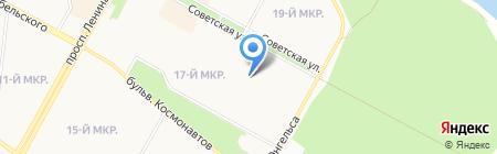 Детский сад №117 на карте Братска