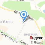 Центр социальных программ на карте Братска