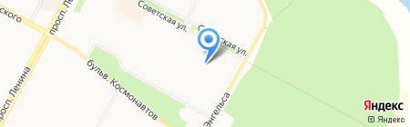 Детский сад №119 на карте Братска